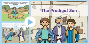 The Prodigal Son Story PowerPoint - the prodigal son, the prodigal son powerpoint, the prodigal son story, bible stories, bible stories, religion