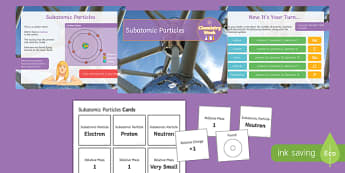 Subatomic Particles - Chemistry Week PowerPoint