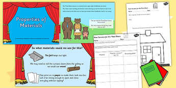 Properties of Different Materials Task Setter Powerpoint Activity
