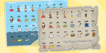 Pirate Themed Sound Mat Phase 3 - sound mat, sounds, pirate sound mat, phase 3 sound mat, letters and sounds, phase 3, phase 3 mat, phonic sounds, phonics