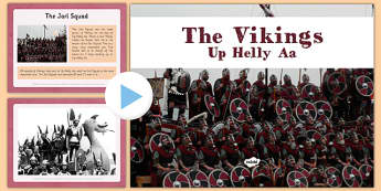 Up Helly Aa PowerPoint The Vikings CfE First Level - CfE, Social Studies, The Vikings, Scottish History, Scotland, Up Helly Aa, PowerPoint, longship, galley, fire festival, Shetland, Lerwick, Jarl