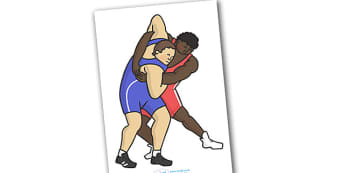 The Olympics Editable Images Wrestling - Wrestling, Olympics, Olympic Games, sports, Olympic, London, images, editable, event, picture, 2012, activity, Olympic torch, medal, Olympic Rings, mascots, flame, compete, events, tennis, athlete, swimming