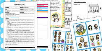 Number Families EYFS Adult Input Plan and Resource Pack - pack