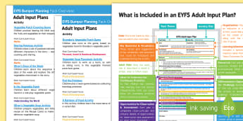 EYFS Bumper Planning Pack Overview to Support Teaching on Oliver's Vegetables - EYFS, Early Years planning, adult led, Oliver's Vegetables, Vivian French, vegetables, healthy eati