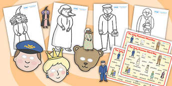 Story Sack Resource Pack to Support Teaching on The Jolly Postman - story sack, story books, story book sack, stories, story telling, childrens story books, traditional tales