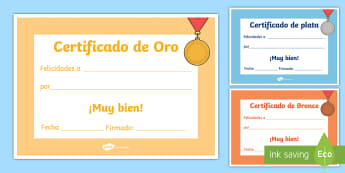 Gold, Silver and Bronze Certificates - Classroom, Organisation, KS3, KS4, certificates, gold, silver, bronze, competitions, games