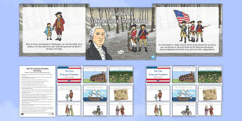 The First American President Resource Pack-Australia - American Presidents, American History, Social Studies, Barack Obama, Lyndon B. Johnson, Franklin D.