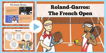 Roland-Garros Information PowerPoint - roland garros, information powerpoint, information, powerpoint