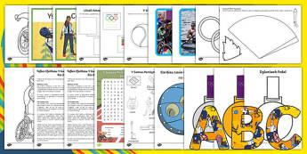 Pecyn Adnoddau Y Gemau Paralympaidd Rio 2016 Pecyn Adnoddau-Welsh