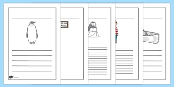 Writing Frames to Support Teaching on Lost and Found - writing template, templates, lost