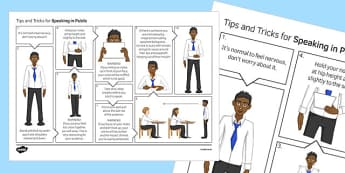 Speaking in Public Skills Poster - public speaking, presentations