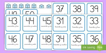 Tarjetas de emparejar: Descomposición de números - descomposición de números, descomponer, valor posicional, valor de las cifras, decenas, unidades,