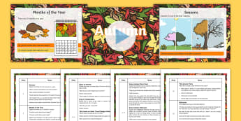 KS1 Autumn Season Themed Assembly Pack