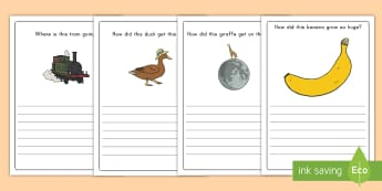 Creative Writing Prompt Question Writing Frames - Opinion Writing, Creative Writing