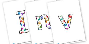 Investigation Corner Lettering - display lettering - General Investigation Display Primary Resources, investigation