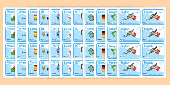 Editable KS1 Book Labels - Book label, editable label, key stage 1, key stage one, subject labels, exercise book, workbook labels, textbook labels