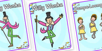 Role Play Poster to Support Teaching on Willy Wonka's Chocolate Factory - role play poster, willy wonka, chocolate factory, story book, role play, poster, chocolate factory poster