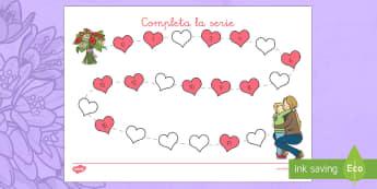 Ficha para contar: Completa la serie - día de la madre, mother's day in Spain, numeración, números, contar hasta 20, numbers, counting