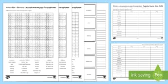 Customs in French-Speaking Countries Revision Activity Sheets French - Secondary, 15 Minute Revision Activities, GCSE, French, customs, speaking, countries, loop cards, lo