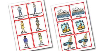 Sydney Tourist Information Role Play Badges - sydney, tourist information, badges, sydney badges, tourist information badges, people in sydney, australia
