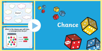 Year 2 Chance PowerPoint - Australian Curriculum Statistics and Probability, chance, ACMSP047, shapes, likely, unlikely, certai