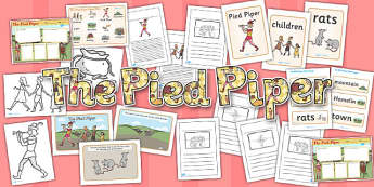 The Pied Piper Story Sack - story sack, pack, pied piper, story