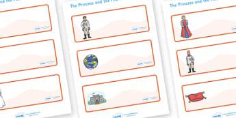 The Princess and the Pea Drawer-Peg-Name Labels - The Princess and the Pea, Editable Drawer-Peg-Name Labels-Classroom Label Templates, Resource Labels, Name Labels, Editable Labels, Drawer Labels, Coat Peg Labels, Peg Label, KS1 Labels, Foundation La