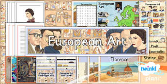 PlanIt - LKS2 Art - European Art Unit Additional Resources - planit, art, unit