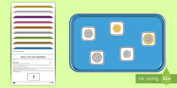 What's in the Tray Money Memory Activity Pack  - money, value, coins, worth, objects game, kims game, kim's game, tray game, brain game, scouting ga