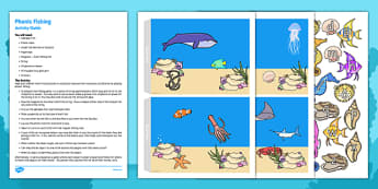Phonic Fishing Busy Bag Resource Pack for Parents