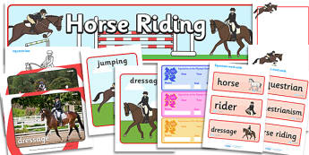 The Olympics Equestrian Resource Pack - Equestrian, Olympics, Olympic Games, sports, Olympic, London, 2012, resource pack, pack resources, activity, Olympic torch, events, flag, countries, medal, Olympic Rings, mascots, flame, compete