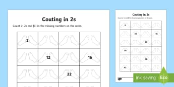 Counting in 2s Socks Activity Sheet - Counting in 5s Hands Activity Sheet - counting aid, count, numeracy, Worksheet, numeracy, numbers, c
