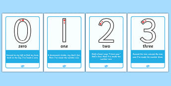 Number Formation Rhyme Display Posters - Number formation, number rhyme, number poem, handwriting, number writing practice, foundation, numbers, foundation stage numeracy, writing, learning to write