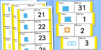 1-31 Loop Cards - loop cards, loop, cards, 1-31