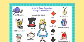 Alice în Țara Minunilor - Planșă