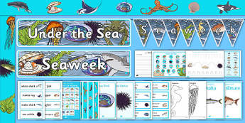 New Zealand Seaweek Resource Pack - nz, new zealand, seaweek, resource, pack