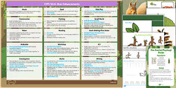 Enhancement Ideas and Resources Pack to Support Teaching on Stick Man - support, teaching