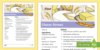 Cheese Straws Recipe - CfE Healthy Eating Week 12th June, healthy eating, cheese straws, balanced diet, recipe, baking,Scot