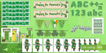 St. Patrick's Day Display  Resource Pack  - St. Patrick's Day,Australia, display, pack, irish,