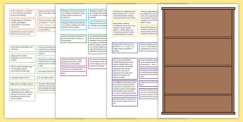 2014 Curriculum Year 2 Maths Assessment Bookshelf Editable Targets Display Pack - 2014 Curriculum Year 1 Maths Assessment Bookshelf Editable Targets, maths assessemnt, sats, maths as