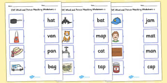 Short Vowel Sound Pictures With Kids Making Faces
