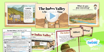 PlanIt History UKS2 Indus Valley Lesson 3 A Step Back Time Pack