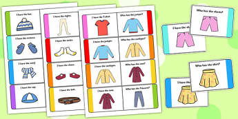 Clothes Loop Cards - clothes, loop cards, loop, cards, clothing