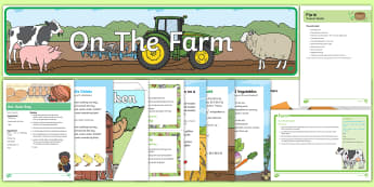 Childminder On the Farm EYFS Resource Pack - On the Farm, farming, farms, child minder, childminding, songs and rhymes, farming, harvest, finger