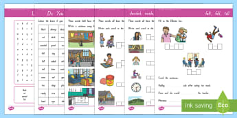 New Zealand Essential Spelling List 6 Activity Sheets