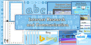 PlanIt - Computing Year 3 - Internet Research and Communication Additional Resources - planit, year 3, computing, internet research and communication, additional resources