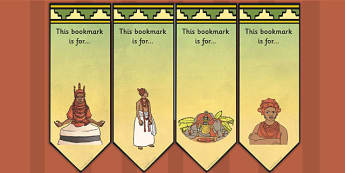 History of Benin Edo Version of Events Editable Bookmarks