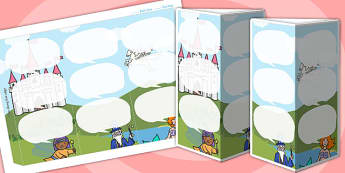 Fantasy Themed Standing Tabletop Targets - fantasy, fantasy themed, table top targets, targets, class targets, themed targets, class management