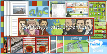 PlanIt - Science Year 3 - Scientists and Inventors Unit Additional Resources - planit, science, year 3, scientists and inventors