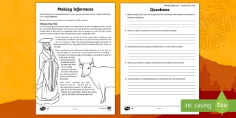 Chinese New Year: Making Inferences Activity Sheet - KS2, inference, reading, activity, Chinese new year, comprehension,